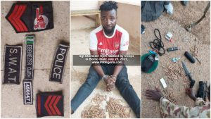 Troops Nab Fake 'Police Sergeant' with Munitions, Grenade in Borno