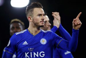 Arsenal submit bid for Leicester City's James Maddison